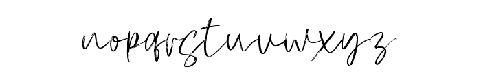 Atkinson Signature  Font LOWERCASE