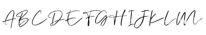 AtkinsonSignature Font UPPERCASE