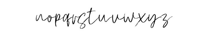 AtkinsonSignature Font LOWERCASE