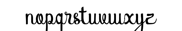 Atlantis Heart Font LOWERCASE
