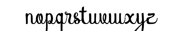 AtlantisHeart Font LOWERCASE