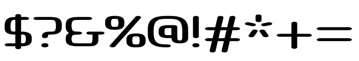 Atlas regular Font OTHER CHARS