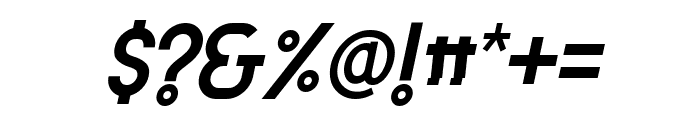 Attracted Tuesday Italic Font OTHER CHARS