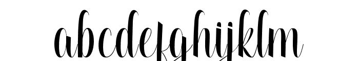 Attycha Font LOWERCASE