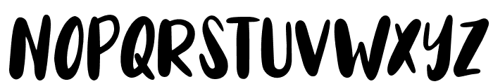 Auglie Font UPPERCASE