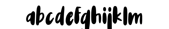 Auglie Font LOWERCASE