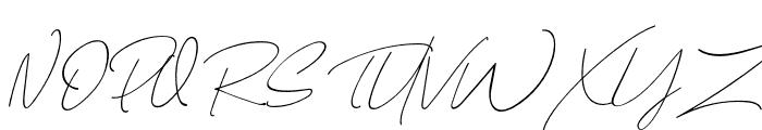 AugustStories-Script Font UPPERCASE