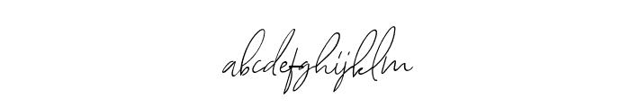 AugustStories-Script Font LOWERCASE