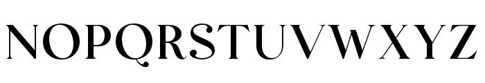 AugustStories-Serif Font UPPERCASE