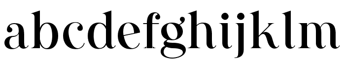 AugustStories-Serif Font LOWERCASE