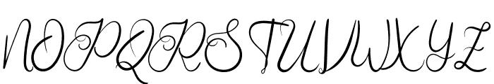 Augustine Heart Font UPPERCASE