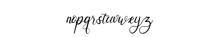 Augustine Heart Font LOWERCASE