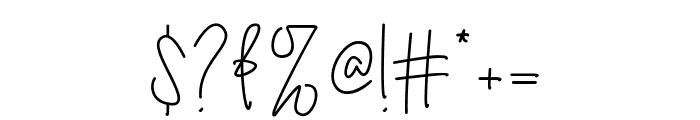 Australia Signature Font OTHER CHARS