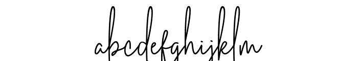 Australia Signature Font LOWERCASE