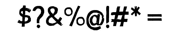 AustraliaSkate Font OTHER CHARS