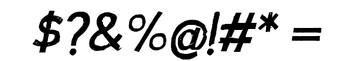 AustraliaSkateItalic Font OTHER CHARS