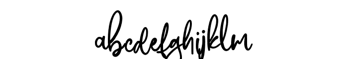 AustraloveAlt Font LOWERCASE