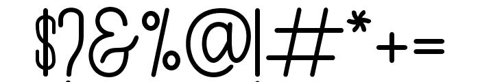 Authemia-Sans Font OTHER CHARS