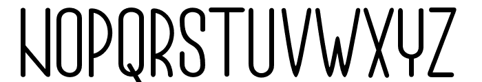 Authemia-Sans Font UPPERCASE