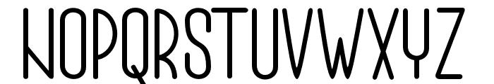 Authemia-Sans Font LOWERCASE