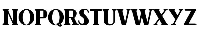 Author Junior Plain Regular Font UPPERCASE