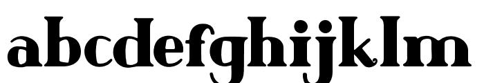 Author Junior Plain Regular Font LOWERCASE