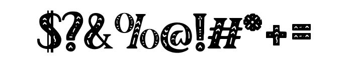 Author Junior Regular Font OTHER CHARS