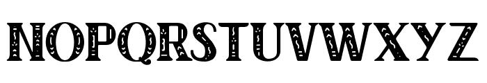 Author Junior Regular Font UPPERCASE