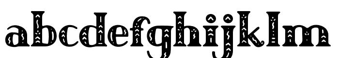 Author Junior Regular Font LOWERCASE