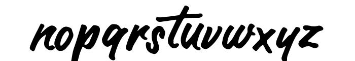 AuthorType Font LOWERCASE