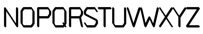 Avenge regular Font UPPERCASE