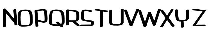 Avenue regular Font UPPERCASE
