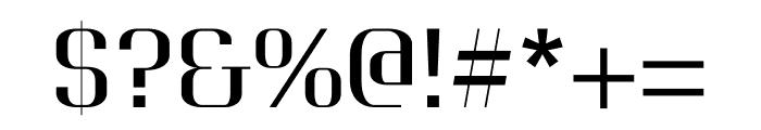 Awakin regular Font OTHER CHARS