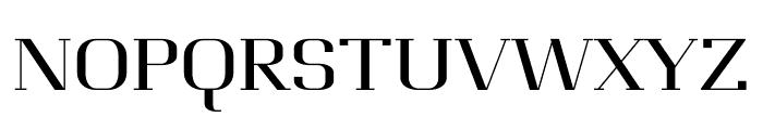 Awakin regular Font UPPERCASE