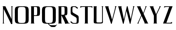 Axell-Medium Font UPPERCASE