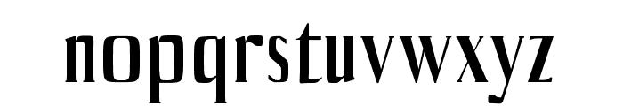 Axell-Medium Font LOWERCASE