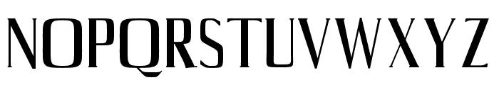 Axell-Regular Font UPPERCASE