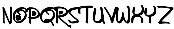 AykaPoTz Font UPPERCASE
