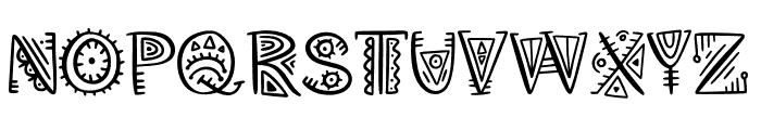 Aztec Soul v Regular Font UPPERCASE
