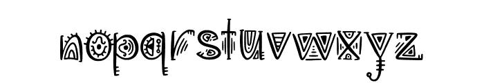 Aztec Soul v Regular Font LOWERCASE
