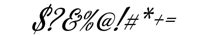 Azzury Script Font OTHER CHARS