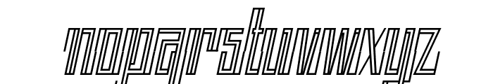 BACK TO ANCIENT TIME Italic Font LOWERCASE