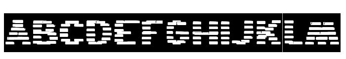 BANDIT-Inverse Font UPPERCASE