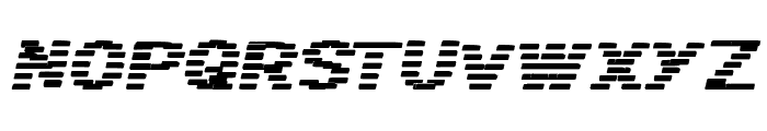 BANDIT Italic Font UPPERCASE
