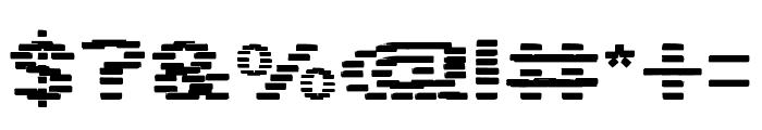 BANDIT Font OTHER CHARS