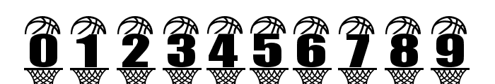 BASKETBALL RIM Font OTHER CHARS