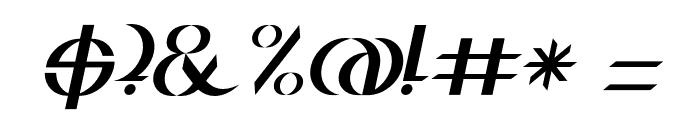 BDJura-Italic Font OTHER CHARS