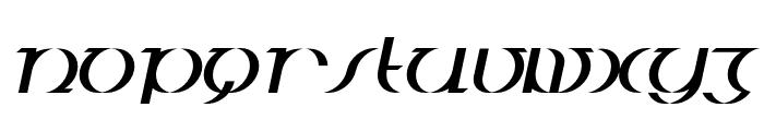 BDJura-Italic Font UPPERCASE