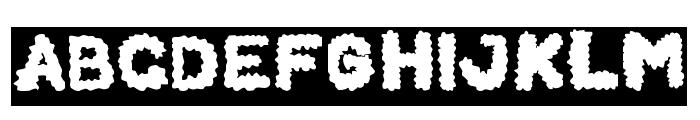 BEARD Rider-Inverse Font UPPERCASE