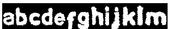 BEARD Rider-Inverse Font LOWERCASE